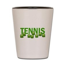 Tennis (e) Shot Glass
