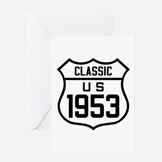 Classic US 1953 Greeting Cards