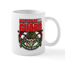 US National Guard Skull and R Mug