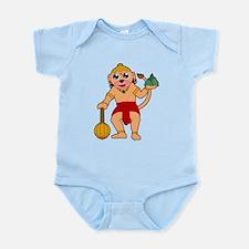 Funny Ape Infant Bodysuit