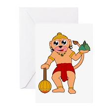 Cute Ganeshe Greeting Cards (Pk of 10)