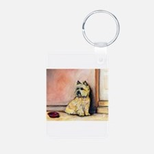 Cairn Terrier Painting Keychains