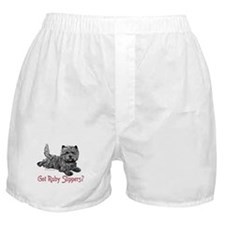 Cairn Terrier Ruby Slippers Boxer Shorts