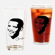 OBAMA SHOPS: Drinking Glass