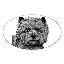 Cairn Terrier Ruby Slippers Decal