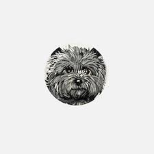 Cairn Terrier Toto Face Mini Button