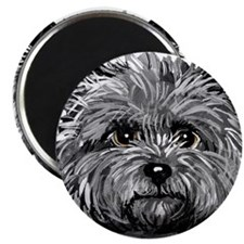 Cairn Terrier Toto Face Magnet