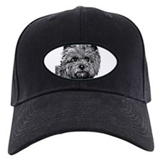 Cairn Terrier Toto Face Baseball Hat