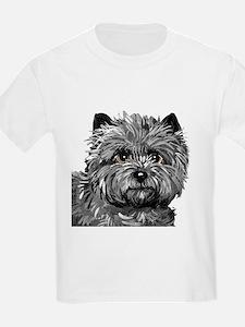 Cairn Terrier Toto Face T-Shirt