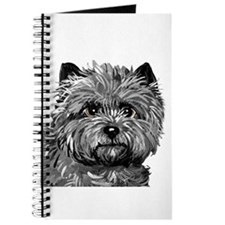 Cairn Terrier Toto Face Journal
