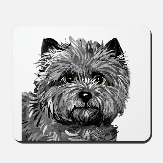 Cairn Terrier Toto Face Mousepad
