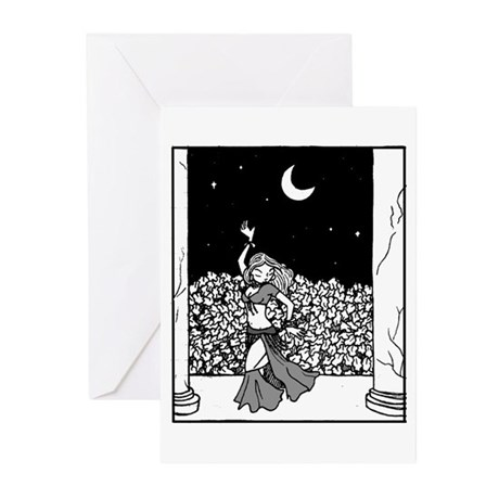 Midnight Temple Greeting Cards (Pk of 10)