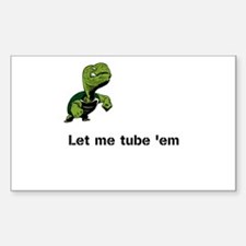 Turtle Tube Decal