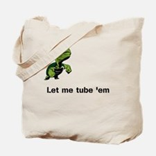 Turtle Tube Tote Bag