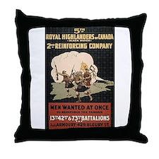 Cool Royal marines Throw Pillow