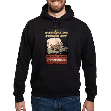 Royal Highlanders of Canada Hoodie (dark)