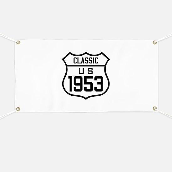 Classic US 1953 Banner