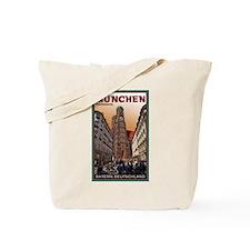 Munich Frauenkirche 2 Tote Bag