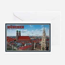 Munich Cityscape Greeting Card