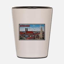Munich Cityscape Shot Glass