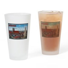 Munich Cityscape Drinking Glass