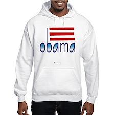 obama blue Hoodie