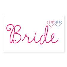 Bride Wedding Set 1 Decal