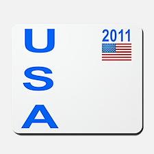 USA 2011 Mousepad