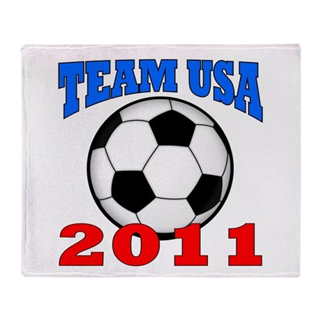 Team USA 2011 Throw Blanket