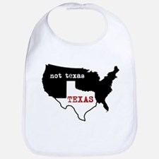 Texas / Not Texas Bib