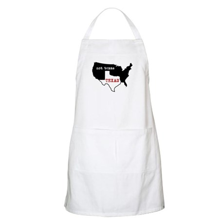 texas not texas apron - Cooking Aprons
