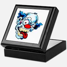 Crazy Clown Keepsake Box