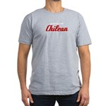 Proud to be Chilean Men's Fitted T-Shirt (dark)