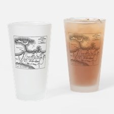 Alexandria Plan Drinking Glass