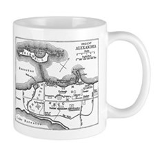 Alexandria Plan Small Mug