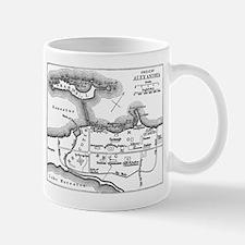 Alexandria Plan Small Small Mug