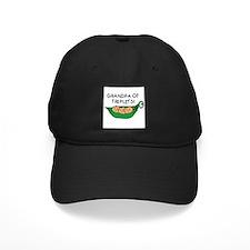 Grandpa of Triplets Pod Baseball Hat