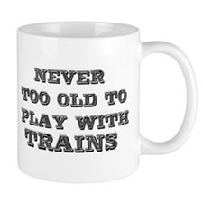 play with trains Mug