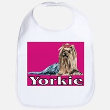 Urban Yorkie Pink Bib