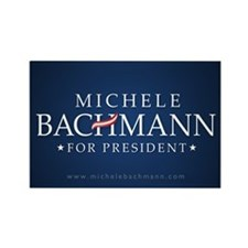 Funny Michele bachmann Rectangle Magnet