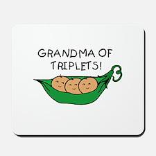 Grandma of Triplets Pod Mousepad