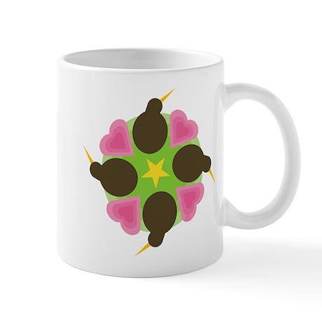 Kiwi Hearts Mug