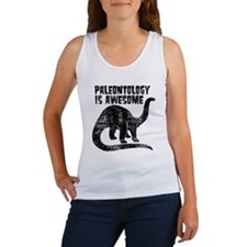 Paleontology Is Awesome Women's Tank Top