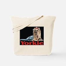 Urban Yorkie Black Tote Bag