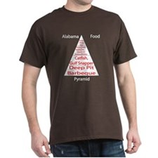 Alabama Food Pyramid T-Shirt