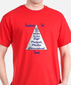 Pennsylvanian Food Pyramid T-Shirt