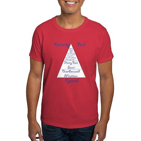 Kentucky Food Pyramid Dark T-Shirt