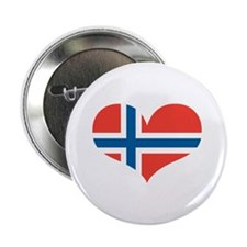"""norway's heart 2.25"""" Button"""