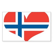 norway's heart Decal