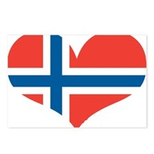 norway's heart Postcards (Package of 8)